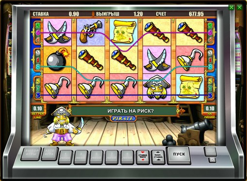 The appearance of slot Pirate