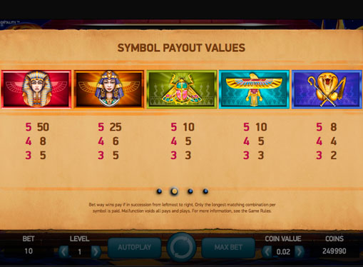 Spiele Pyramid: Quest For Immortality Slot Machine - Video Slots Online