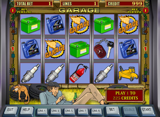 Garage Play the slot online