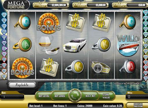 Mega Fortune Play the slot online