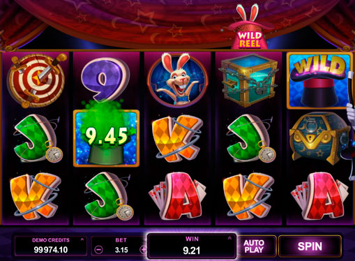 Magic hat online slots Rabbit in the Hat
