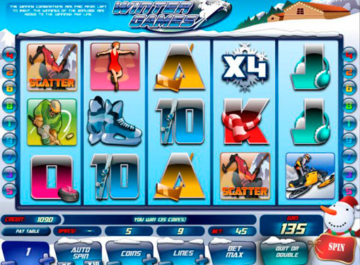 Winter Games Play the slot online for money
