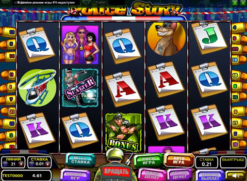 Police Story Play the slot online for money