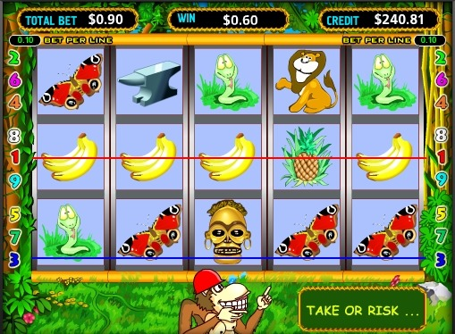 Crazy Monkey Play the slot online