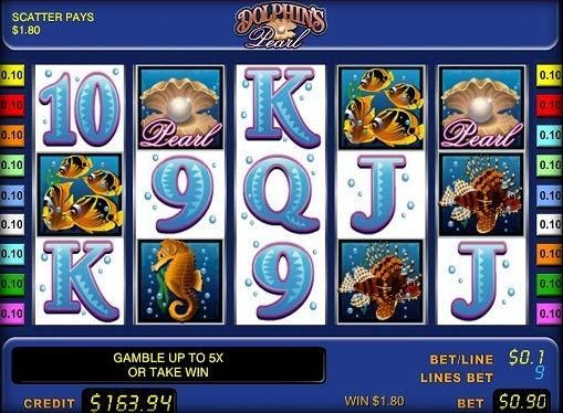 Dolphins Pearl Play the slot online