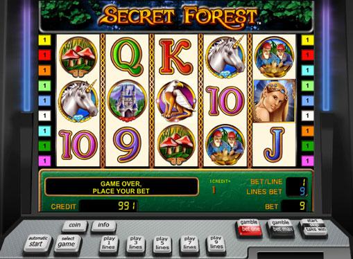 Secret Forest Slot Machine
