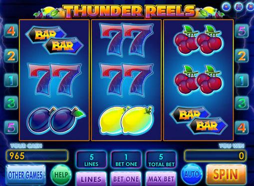 Thunder Reels Slot Machine
